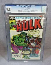 THE INCREDIBLE HULK #271 (Rocket Raccoon 1st app) CGC 9.8 Marvel Comics 1982