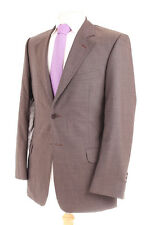 PAUL SMITH LONDON PLAIN GREY MEN'S SUIT JACKET 38R DRY-CLEANED