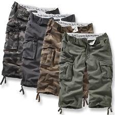 SURPLUS Raw TROOPER LEGEND 3/4 shorts militare da uomo vintage stile slavato