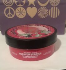 The Body Shop FROSTED BERRIES Softening Body Butter- 6.75 oz