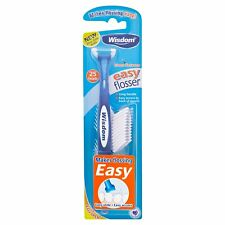 Wisdom Easy Daily Flosser Inc. 25 Refills Pack of 3