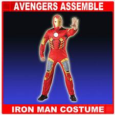 IRONMAN MENS MARVEL SUPERHERO EVA MUSCLES FANCY DRESS COSTUME