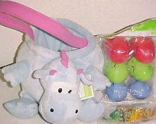 New Dinosaur Toy easter Basket Supplies Plush dinosaur Toys Egg Hunt Play Set