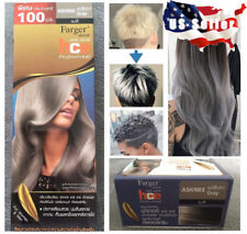Grey Hair Cream Permanent Dye Color Ash Gray Professional Beauty Makeup Salon US
