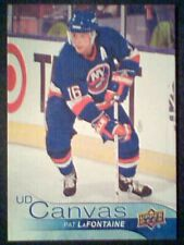 PAT LaFONTAINE  16/17 AUTHENTIC UDS2 CANVAS RETIRED STARS INSERT CARD SP