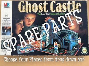 GHOST CASTLE Board Game SPARE PARTS