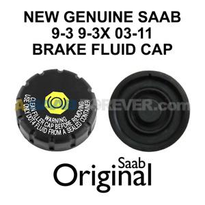 SAAB 9-3 Brake Fluid Reservoir Cap 2003-2011 9-3 9-3X NEW GENUINE OEM 93189060