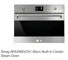 Smeg SFA4395VCX1 60cm Built-In Combi-Steam Oven