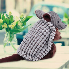 Cute Pet Armadillo Plush Squeaky Dog Training Stuffed Animal Pet Supplies Toys