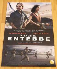 """KINOPOSTER/FILMPLAKAT von """"7 Tage in Entebbe"""" Signiert von Daniel Brühl. 84x60cm"""
