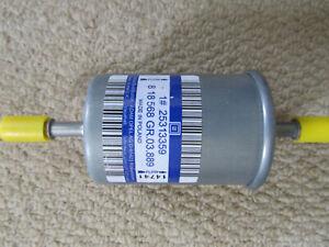 Genuine GM Vauxhall Saab petrol fuel filter 818568 / 25313359 Vectra Astra 9-3