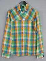 Men Haglofs Casual ShirtCheck Cotton Blend L MDA979