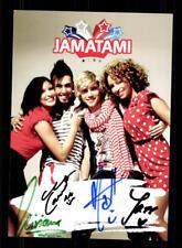 Jamatami Autogrammkarte Original Signiert ## BC 111960