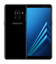 Unlocked A530FD Galaxy A8 (2018) SAMSUNG Dual SIM 4GB RAM 64GB Black