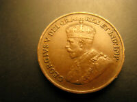 Canada 1929 Low 9 Variety High Grade Beautiful Small Cent Penny.