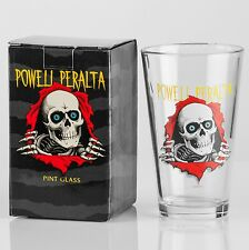 Powell Peralta Skateboards Ripper Pint Glass Bones Brigade NEW