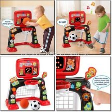 Basketball Football Soccer Toddler Toys Kid Learn Sport Play Center Music Sounds