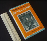 1967 Observer's Book of Postage Stamps by Anthony New. Frederick Warne & Co.