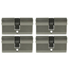Perfil 4x cilindro 60mm 30/30 20x clave puerta cerradura de cilindro uniforme