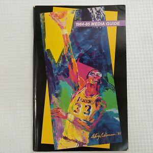 1984-85 Los Angeles LAKERS Media Guide Kareem Abdul-Jabbar Magic Johnson NBA