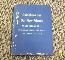 $DJSPEC 1946 GUIDEBOOK to ACCOMPANY OUR NEW FRIENDS DICK AND JANE PRIMER # 1/2