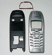 Silver Houing cover Fascia facia case Faceplate for nokia 6310 6310i case -00001