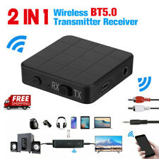 2-in-1 Bluetooth 5.0 Transmitter and Receiver Wireless Audio Aux 3.5mm Adapter