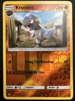 Carte Pokemon KRANIDOS 64/156 REVERSE Soleil et Lune 5 SL5 FR NEUF
