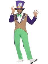 Smiffys - Costume da Cappellaio Matto Incl. Pantaloni Giacca Papillon e Cappel