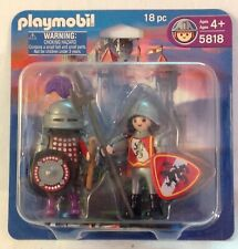 Playmobil 5818 Knights Duo Pack  Sentry (4583)  &  Knight (4567) -  NEW