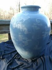 """Tapering Oviod Chinese Porcelian Vase 13.25"""" X 10"""""""