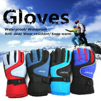 1 Pair Anti-Slip Full Finger Gloves Sport Cycling Bike Riding Outdoor