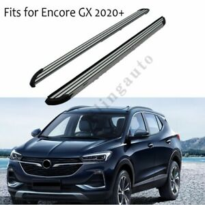Side steps fits for Buick Encore GX 2020 running board nerf bars protect beam