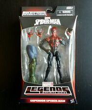 """Marvel Legends SUPERIOR SPIDER-MAN 6"""" Poseable Figure w/ BAF Hobgoblin Right Leg"""
