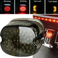 Smoke LED Tail Light Brake Turn Signal for Harley Touring Road King Glide Dyna