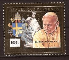 Rep.de GUINEE Timbre neuf OR le Pape Jean-Paul II E245
