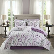 Essentials Lafael Twin Size Bed Comforter Set Bed in A Bag,7 Pieces Bedding Sets