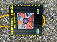"""13x13X11/2"""" MIGHTY BIG UTILITY BLOCK RV MOTOR HOME OUTRIGGER PADS TRUCKS TRAILER"""