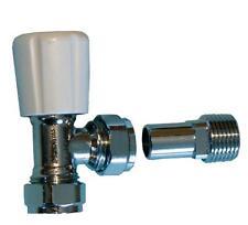 """Angle radiator valve 15mm - with 1/2"""" tail (PAIR)"""