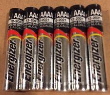 6 NEW Energizer AAAA Alkaline Batteries BULK EXP 12/2021 E96 USA SELLER