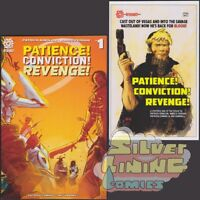 PATIENCE CONVICTION REVENGE #1 Set of Two COVER A + B VARIANT Aftershock Comics