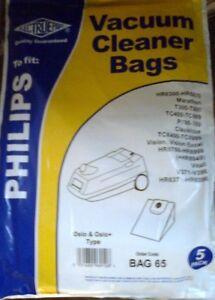 ELECTRUEPART VACUUM CLEANER BAGS - FOR PHILIPS   - (R1-2)