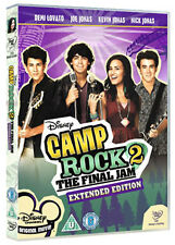 CAMP ROCK 2 - THE FINAL JAM - DVD - REGION 2 UK