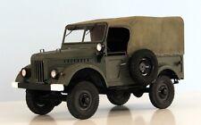 Modelik 13/11 - Russian SUV gaz-69m (1952) with Lasercut Parts 1:25
