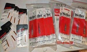 Weller & Ungar Soldering Iron Tips - various #'s - Choice