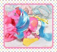 ❤️My Little Pony MLP G1 VTG Sweet Blossom Pink Flower Fantasy Bouquet BRUSH❤️