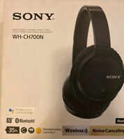 Sony WH-CH700N Wireless Noise Canceling Headphones Bluetooth WHCH700N/B Black