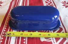 Tupperware  covered  Butter dish   Tokyo  BLUE