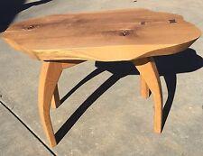 Live edge natural wood coffee End table Handmade Furniture Art 1 Of A Kind