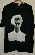 Justin Bieber Purpose Tour T-Shirt Justin Bieber Face Shirt Size Large Gildan